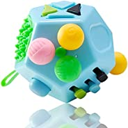 VCOSTORE 12 Sides Fidget Cube,Anxiety Toy for Children and Adults with ADHD ADD OCD Autism
