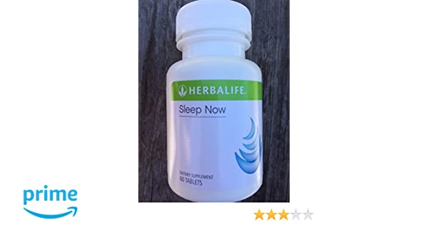 Amazon.com: Herbalife Sleep Now With Passionflower Lavender Hops Valerian and Melatonin: Health & Personal Care