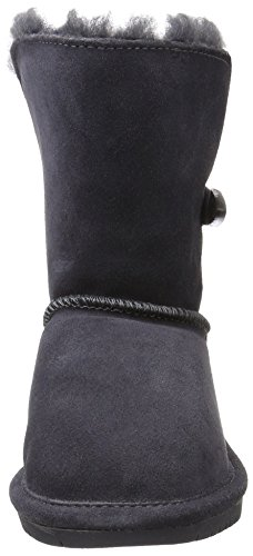 Bearpaw Abigail Charcoal Unisex Kids Shearling Boot Size 1M by BEARPAW (Image #4)