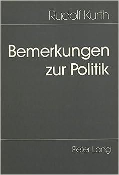 Book Bemerkungen zur Politik (German Edition)