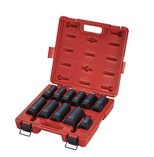 Service Socket Set (Sunex 4632 3/4-Inch Drive Wheel Service Impact Socket Set, 11-Piece)