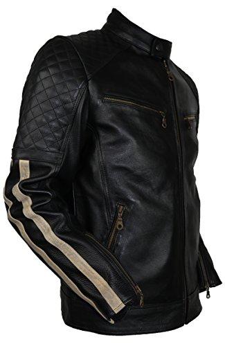 In Protezioni Con Pelle Moto Nero 3xl Da Giacca gTwqXcZvEv