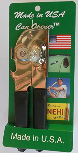 Made in USA Can Opener (Black) (Can Opener Made In Usa compare prices)