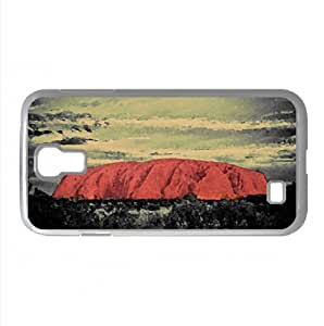 Ayers Rock Australia Watercolor style Cover Samsung Galaxy S4 I9500 Case (Australia Watercolor style Cover Samsung Galaxy S4 I9500 Case)