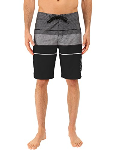 - Silwave Men's Navigator High Performance Board Shorts, Black, Size 40