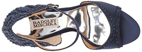 Badgley Mischka Womens Roxy Dress Sandal Mezzanotte