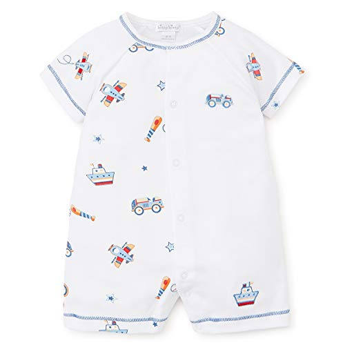 Kissy Kissy Baby-Boys Infant It's A Boy Print Short Playsuit-Multicolored-18-24 Months