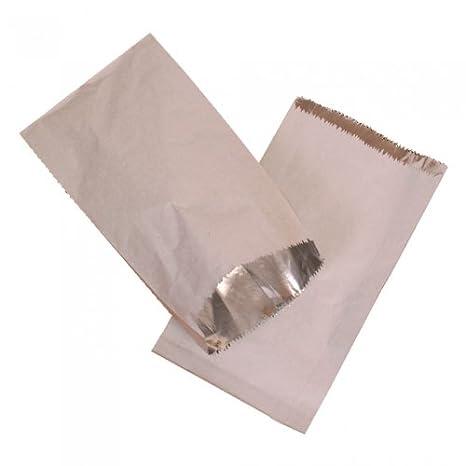 10 x de papel de aluminio con bolsa de comida caliente ...