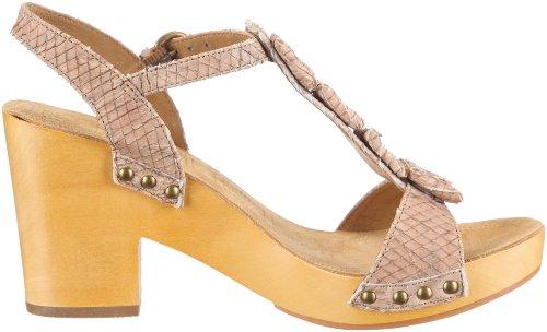 Biviel Sandal 2982 - Sandalias de vestir de cuero para mujer Beige