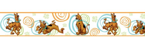 ROOMMATES RMK1608BCS Scooby Doo Peel and Stick Border