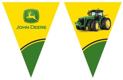 John Deere Flag Banner (Banner Birthday John Deere)