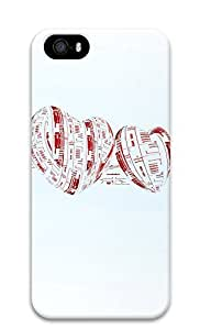 Case For Ipod Touch 4 Cover Blurred Heart 3D Custom Case For Ipod Touch 4 Cover