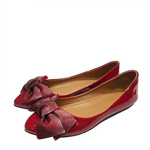 punta scarpe bocca donne le le lavoro dell'arco scarpe 40 scarpe modo della comode scarpe incinte basse hanno FLYRCX piane donne UE da piatte a delle Le delle 41 EU singole aguzzato dolce FO7wWqI0