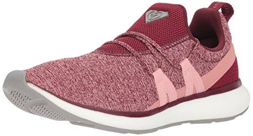 Roxy Women's Set Seeker Athletic Shoe Sneaker, Burgundy, 6 M US