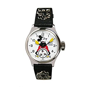 Pedre Official Reproduction of The Original 1933 Ingersoll Mickey Mouse Strap Watch