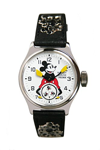 Pedre Official Reproduction of The Original 1933 Ingersoll Mickey Mouse Watch. Ships Free + Free Watch!