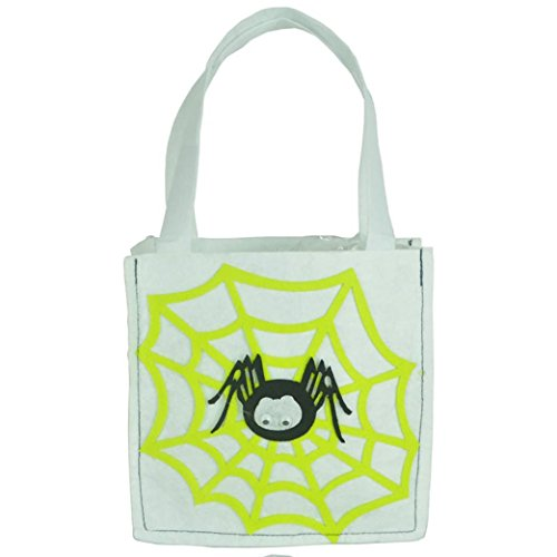 Grayscale Costume Eyes (Aitena Handmade Funny Pumpkin Witch Interesting Candy Bags (Gray))