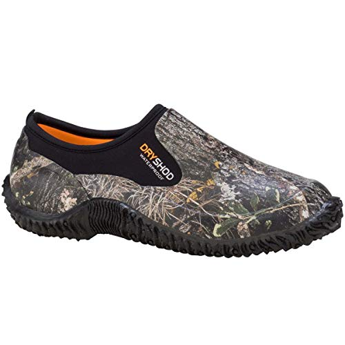 Dryshod Legend Camp Shoe in Camo/Black (Mens 11) (Best Shoes For Walking With Ms)