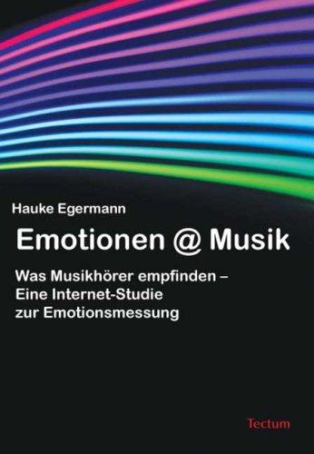 Emotionen@Musik. Was Musikhörer empfinden – Eine Internet-Studie zur Emotionsmessung