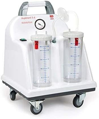 LEM – aspirador quirúrgico, con carro 90L/min – aspimed 3.4 ...