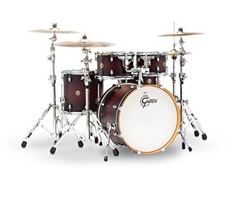 Gretsch Drums Catalina Maple CM1-E605-DCB 5-Piece Drum Shell Pack, Deep Cherry Burst ()