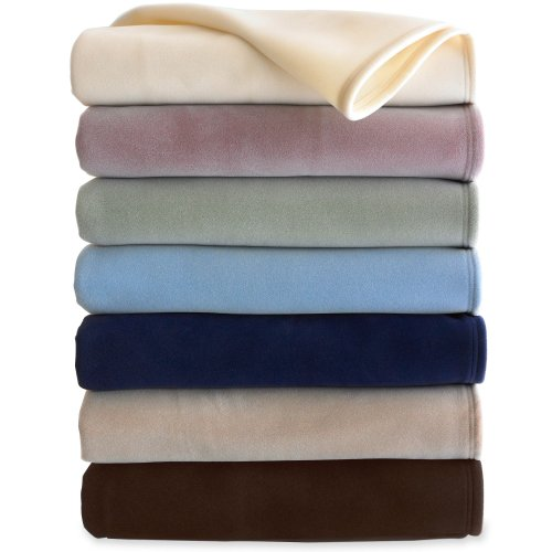 West Point Home Martex Vellux Twin Blanket (West Point Home Blanket)