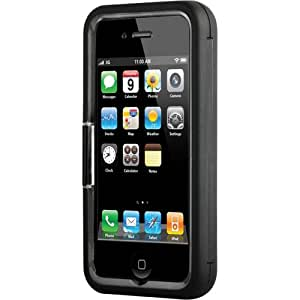 Contour Design 01664-0 Showcase with Holster Stand for iPhone 4 (Fits At & T) - 1 Pack - Retail Packaging - Black