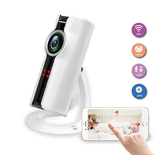 Wireless Wifi Security Camera 2 Way Audio Night Vision Baby