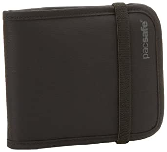 Pacsafe Luggage Rfid-Tec 100 Bi-Fold Wallet, Black, Small,One Size