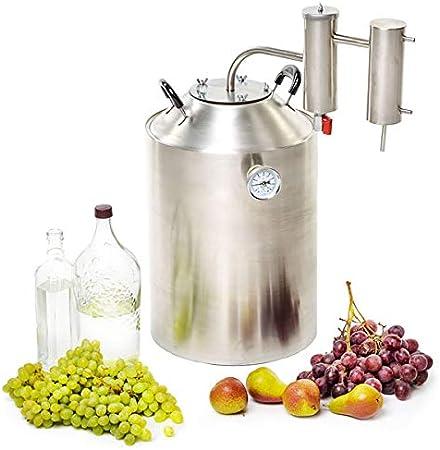 SPEAKEASY 8 Gallon Moonshine Still for Wine Brandy Grapa Whiskey Vodka Essential Oils Distiller 30L