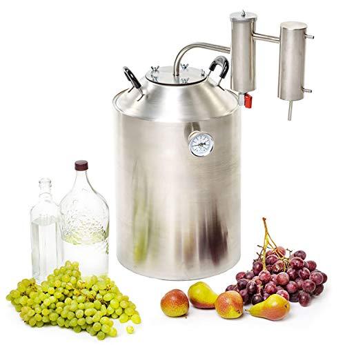 SPEAKEASY 8 Gallon Home Distiller Moonshine Alcohol Still Stainless Steel (30L) by Speakeasy Distillers