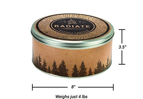 Radiate Portable Campfire 2 Pack (Made in The USA) by Radiate (Image #1)