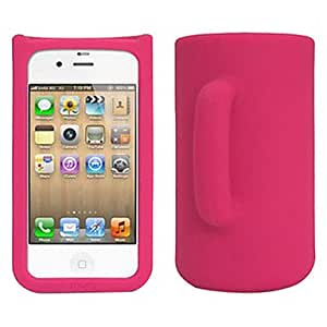 ZL Cup Shape Tpu Case For Iphone 4/4S , Yellow