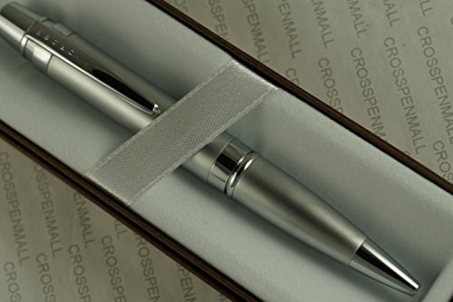 Cross Autocross Compact Havana Satin and Extremely Polished Appointments Ballpoint Pen Cross Autocross Pocket Pen