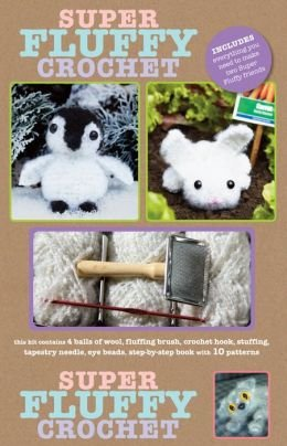 Super Fluffy Crochet Kit by Brigitte Read by Sterling Shelf Liners