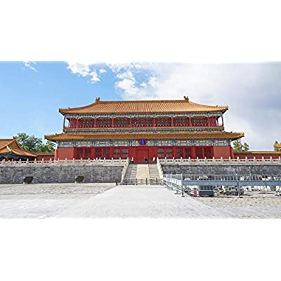 QPGGY Wooden Jigsaw Puzzles 500 Pieces for Adults Beijing Palace Museum Building Landscape Picture-30 Educational Toys Games: Arts, Crafts & Sewing