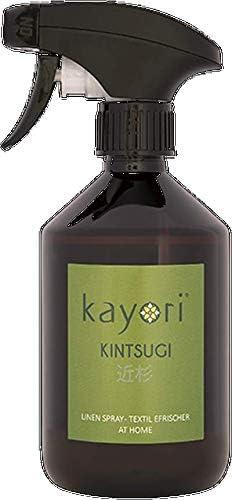 Kayori Textilerfrischer Kintsugi 500ml Farbe braun duftet nach Zedernholz, frischem Wald-Moos