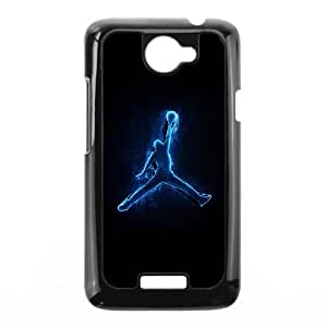 HTC One X Cell Phone Case Black Jordan logo GSF Cheap Cell Phone Covers With Free Shipping