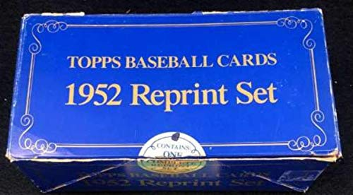 1952 Topps Baseball Complete Reprint Set from 1983 with Mickey Mantle Jackie Robinson Willie Mays in Original Box - BLACK FRIDAY SPECIAL ()