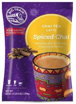 Big Train Spice Chai Tea, Four 3.5lb Bags by Big Train