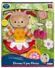 """In The Night Garden 14/"""" UPSY DAISY With Removeable Skirt Soft Plush Toy Doll"""