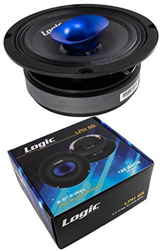 1x 6.5 Pro Car Audio Speaker Mid Range Compression Driver 4 Ohm 120W Logic LPH65