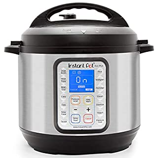 Instant Pot IP-DUO Plus60 Electric Pressure Cooker, 6 quart 9-in-1, Stainless Steel/Black (B01NBKTPTS) | Amazon price tracker / tracking, Amazon price history charts, Amazon price watches, Amazon price drop alerts