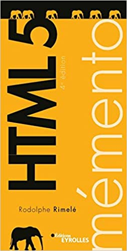 Livre Mémento HTML 5
