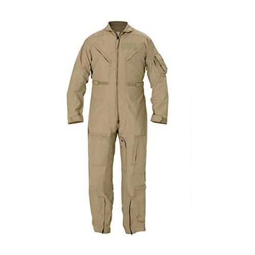 Propper Cwu 27/P Nomex Flight Suit,Black,50 Regular