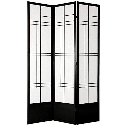 Oriental Furniture Eudes Shoji Screen Room Divider-84 Inch
