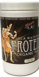 CACAO INCA WARRIOR PROTEIN w/Organic Maca 16 Oz