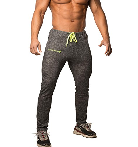 5f0342ec45 Jed North Men s Joggers Bodybuilding Slim Fit Tight Workout Sweat Pants -  Buy Online in UAE.