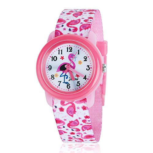 Christmas Gifts: MICO Waterproof Watch for Kids, 3D Lovely Cartoon Design - Best Gifts (Red Flamingo) ()