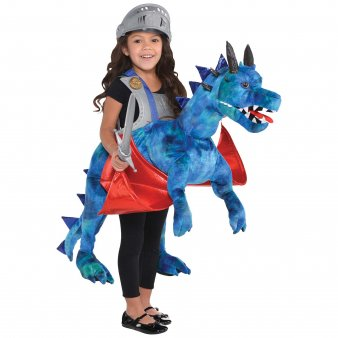 Childs Ride On Dragon Fancy Dress Mythical Animal Costume by Travis designs ()